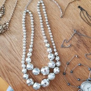 Discoball necklace